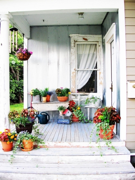 Stunning Shab Chic Decorating Ideas For Porches And Gardens Hgtv Small Porch Ideas Pics