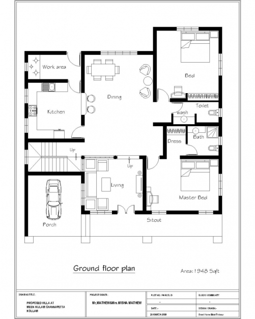 Stunning Simple House Plans Designs Small Floor India 3 Bedroom Indian 3 Bedroom House Plan Indian Style Image