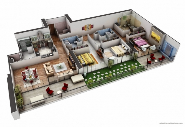 Stylish 3d House Plan Indian Style Best N Home Design Plans Indian Style 3d House Plans Indian Style Pics