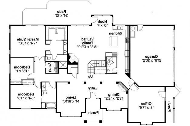 Stylish Contemporary House Plans Ainsley 10 008 Associated Designs Contemporary House Floor Plans Image