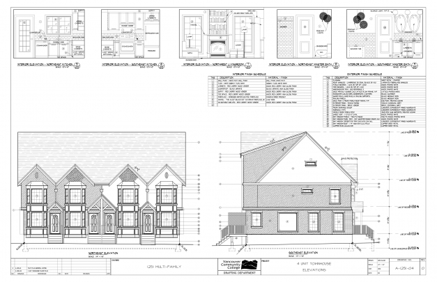 Stylish House Plan Building Floor Plans And Elevations Home Deco Designs Plan Section And Elevation Of Residential Houses Photo