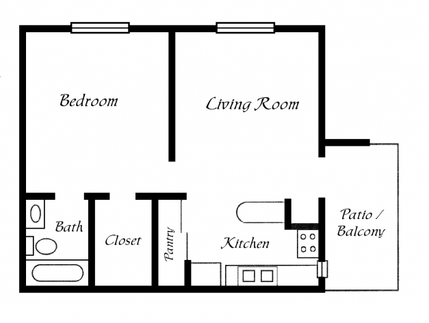 Stylish Simple One Bedroom House Plans Great 4 Plan Fashionable Ideas Simple Home Floor Plans Pics