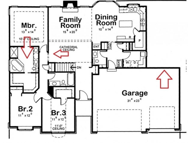 Wonderful Astounding Four Bedroom House Plans Two Story 88 In Home Pictures Four Bed Room Plan Images