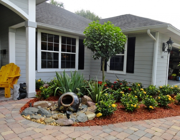 Wonderful Excellent Simple Landscaping Ideas For Small Front Yards Pictures Front Yard Decorating Ideas Image