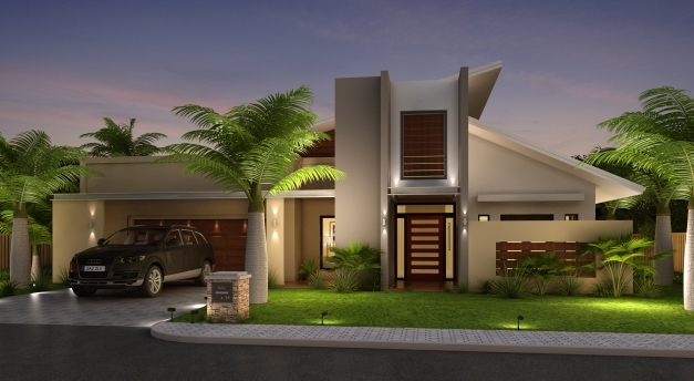 Wonderful Exciting Modern Front Elevation Of House 83 With Additional Home Front Elevation Of Homes Pic