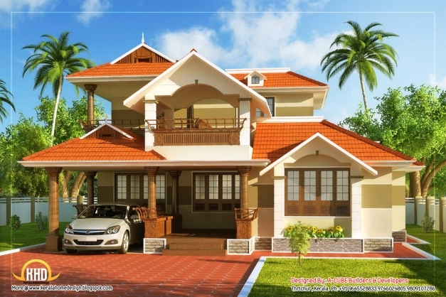 Wonderful Fascinating New Style Kerala Home Designs 22 For Home Design Ideas Pretty Kerala Home Design Picture
