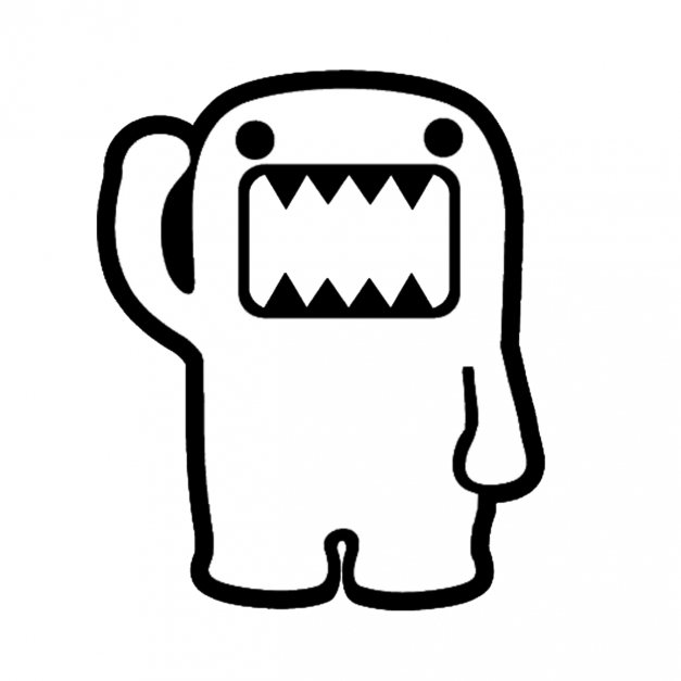 Amazing Domo Coloring Pages Free Download Clip Art Free Clip Art On Black And White Domo Pic