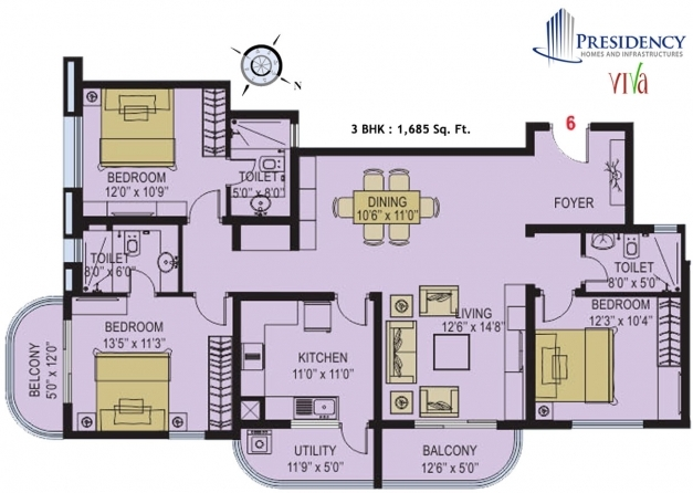 Awesome Breathtaking 3 Bhk Simple Plan For House Photos Best Inspiration Indian Home Plans With Floor 3bhk Photos
