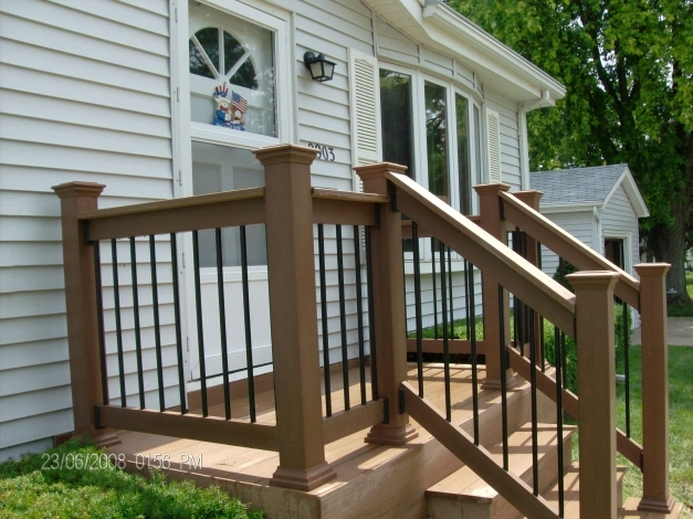 Awesome Exterior Wooden Porch Railing Design Steel Railing Design Front Porch Rail Designs Images