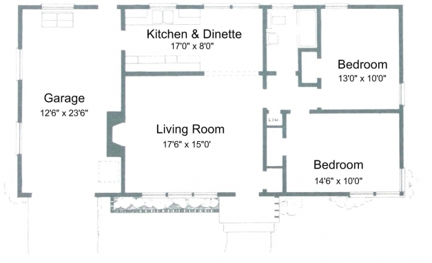 Awesome Free Small House Plans For Ideas Or Just Dreaming 2 Bedroom House Plans Image
