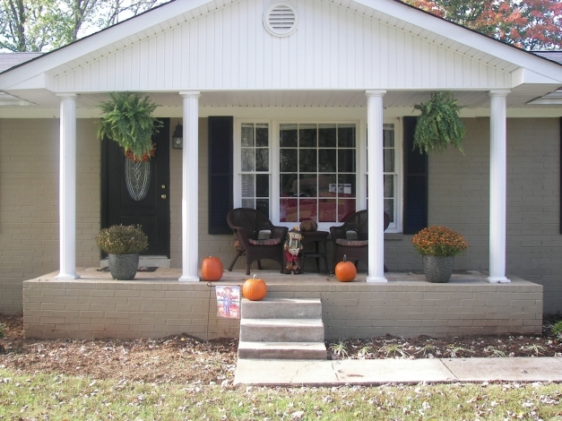 Awesome Front Porch Ideas For Small Houses House Plans Latest Deck On With Modern House With Front Porch Photo