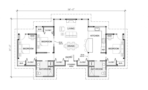 Awesome Modern House Floor Plans Single Story Here Plan House Plans 7892 Single Story Dwelling Photo