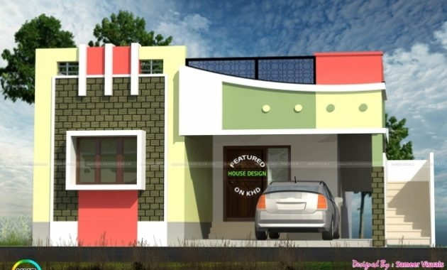 Awesome Tamilnadu Style Home Design Rare Small Keralad Floor House Plan Small Floor House Plans In Tamilnadu Photo
