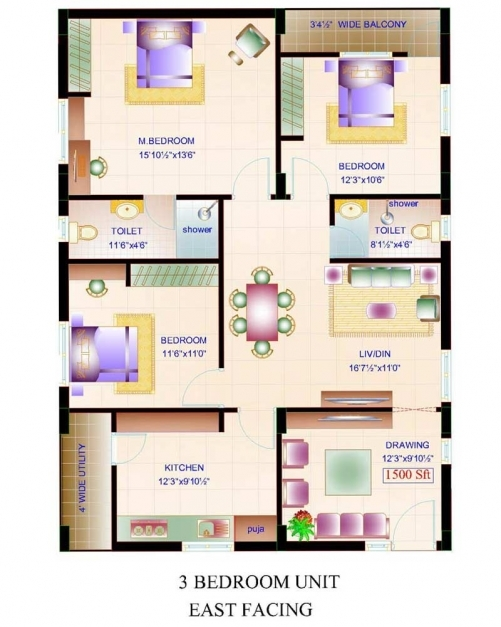 Delightful East Facing House Vastu Plan Admirable 3bhk Emejing Indian Plans Indian Home Plans With Floor 3bhk Picture