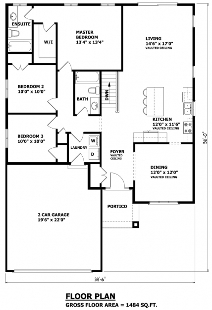 Delightful House Plans Canada Stock Custom Bungalow House Plans Images
