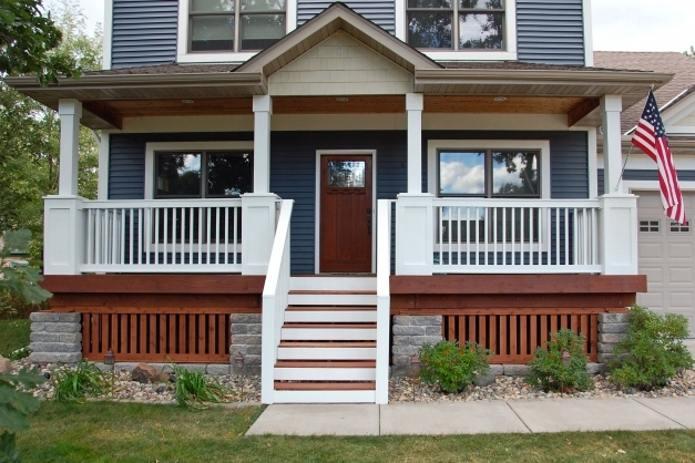 Delightful Relax Warm And Decorating Front Porch Ideas Midcityeast Painted Porch Ideas Pics