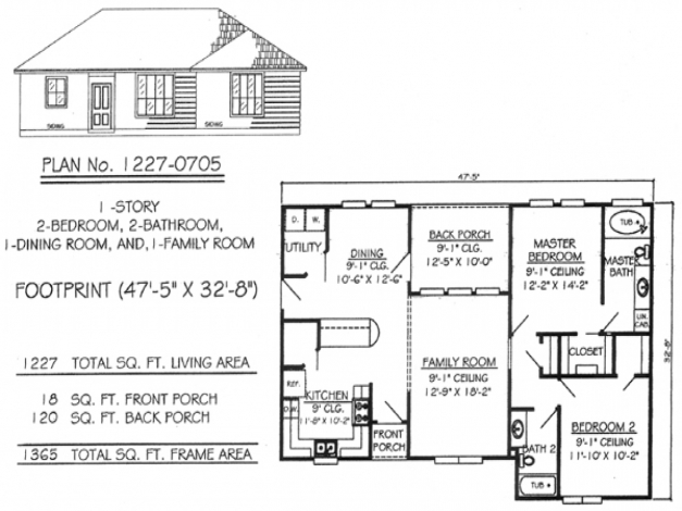 Delightful Single Story 2 Bedroom House Plan Amazing New On Excellent Sturdy 2 Bedroom House Plans Pics