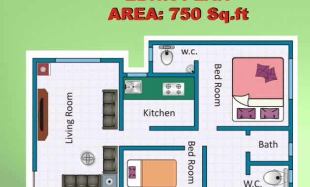 Fantastic Nice Design Ideas House Plans Less Than 750 Square Feet 11 Home Indian House Plans For 750 Sq Ft Images