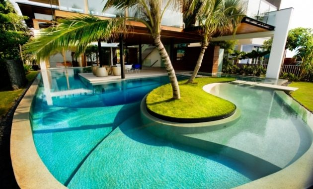 Fascinating Get A Unique And Attractive Pool Design Pickndecor Swimming Pool Designs Pictures Images