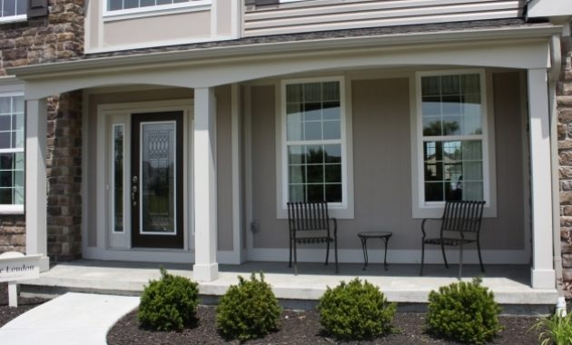 Fascinating Simple Front Porch Designs The Home Design Front Porch Designs Modern House With Front Porch Image
