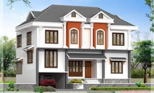 Gorgeous 2172 Kerala House With 3d View And Plan House Plan With 3d View In Kerala Pics