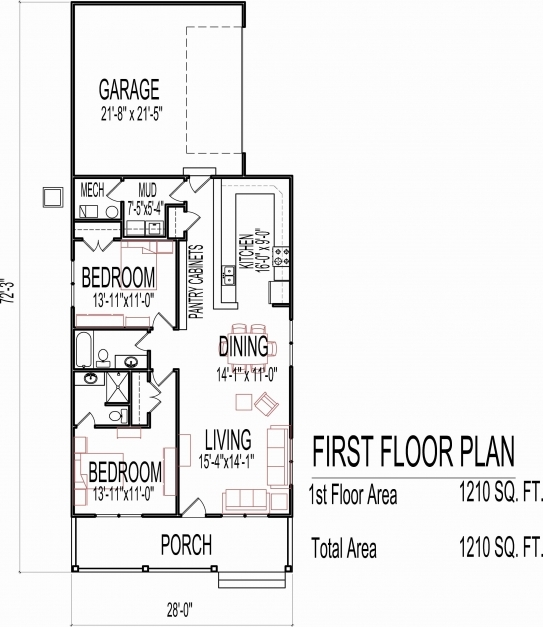 Gorgeous 57 Best Of 1500 Sq Ft Home Plans House Floor Plans House Floor Homeplans Of Planskill Images