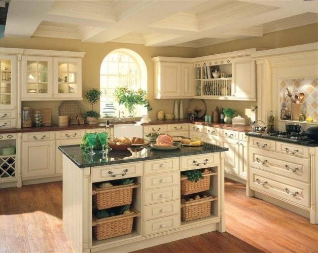 Gorgeous Kitchen Brilliant French Country Kitchen Design Ideas Country Kitchen Design Country Style Pictures