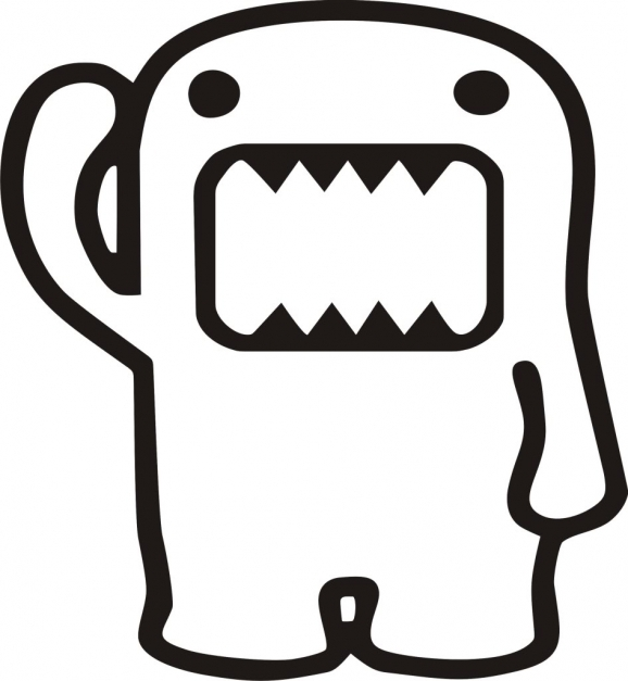 Incredible Jdm Clipart Black And White Domo Image