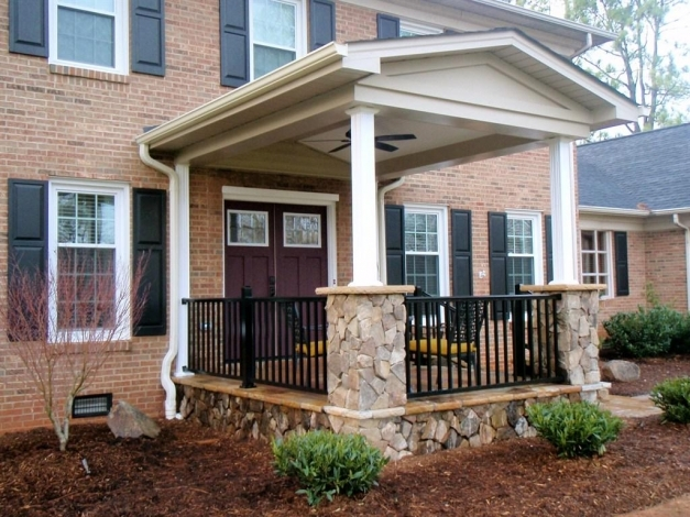 Inspiring Home Porch Design New On Modern House Front Designs Latest Photos Modern House With Front Porch Pic