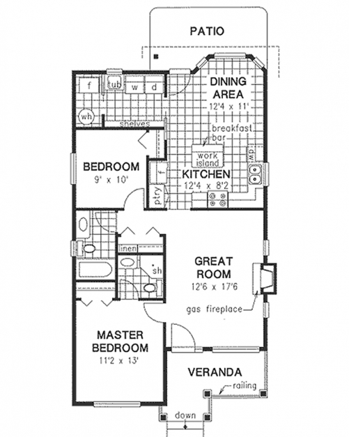 Inspiring House Plans With 1000 Square Feet Homes Zone 1000 Sq Foot House Plans Pic