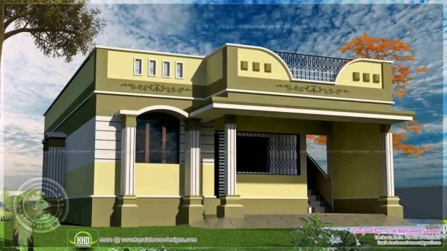 Marvelous House Designs Photos In Tamilnadu Youtube Small Floor House Plans In Tamilnadu Pic