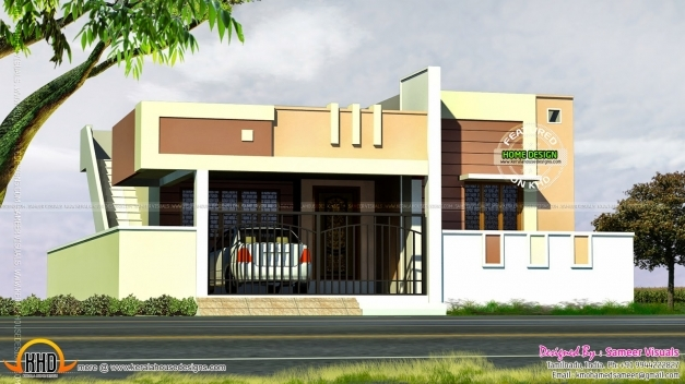 Outstanding Small Tamilnadu Style House Kerala Home Design And Floor Plans Small Floor House Plans In Tamilnadu Photos