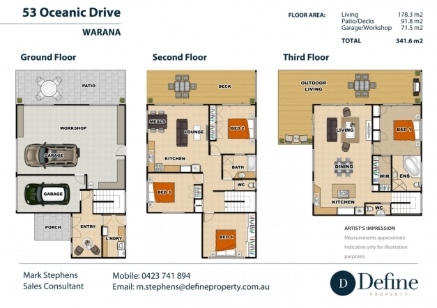 Outstanding Story House Plans With Roof Deck Small Lot Narrow Level For Lots House Design Uk 3 Bedroom 3 Storey Pics