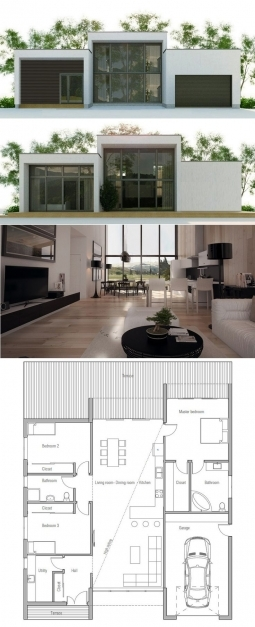 Outstanding Stunning Modern Small House Designs And Floor Plans 17 On Small Small Modern Home Plans Pictures