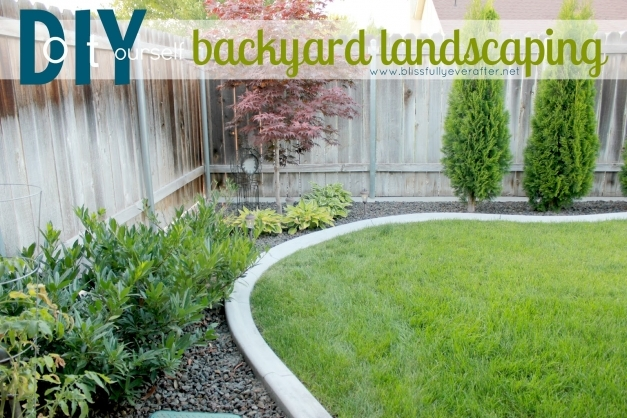Remarkable Backyard Landscaping Ideas On A Budget Good Looking Patio Makeover Backyard Diy Landscaping Ideas Image