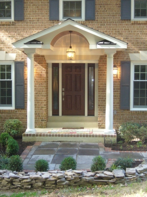 Remarkable Small Front Porch Design The Home Design Front Porch Designs For Modern House With Front Porch Photo