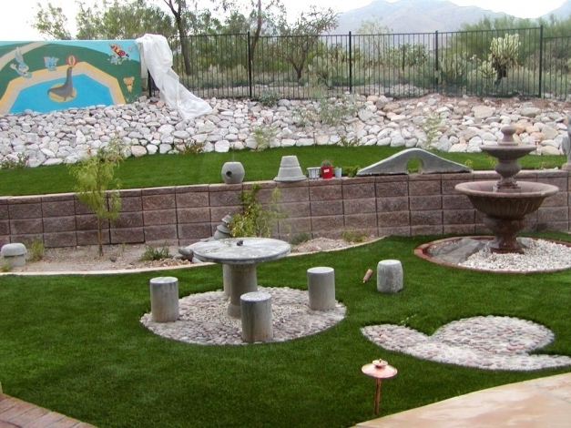 Stunning Landscaping Ideas For Backyards That Slope The Garden Inspirations Backyard Slope Landscaping Ideas Pic