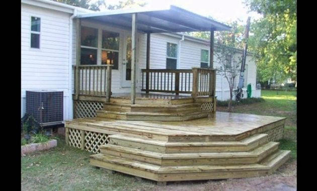 Stunning Mobile Home Porch Ideas Youtube Mobile Home Porch Ideas Pics