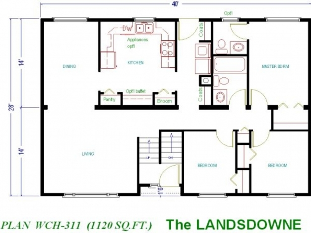 Wonderful Cool And Opulent 12 Modern House Plans Under 1000 Square Feet 1000 Sq Foot House Plans Pic