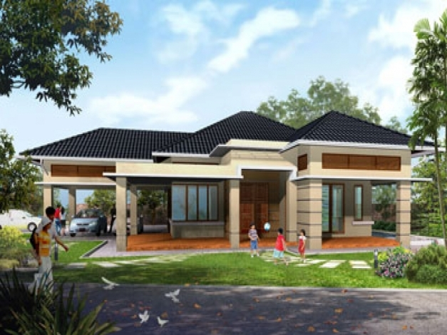 Amazing Modern Contemporary Single Story House Plans Home Deco Plans One Story House Design Pictures Picture