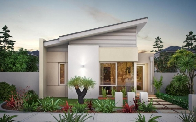 Delightful One Story House Plan Home Design Minimalist One Storey Modern One Story House Design Pictures Photos