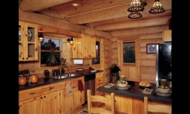 Gorgeous Designing Your Log Cabin Kitchens Youtube Log Cabin Kitchen Pictures Pic