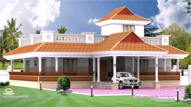 Incredible Kerala Style House Elevation Single Storey Youtube Kerala Single Floor House Elevation Picture
