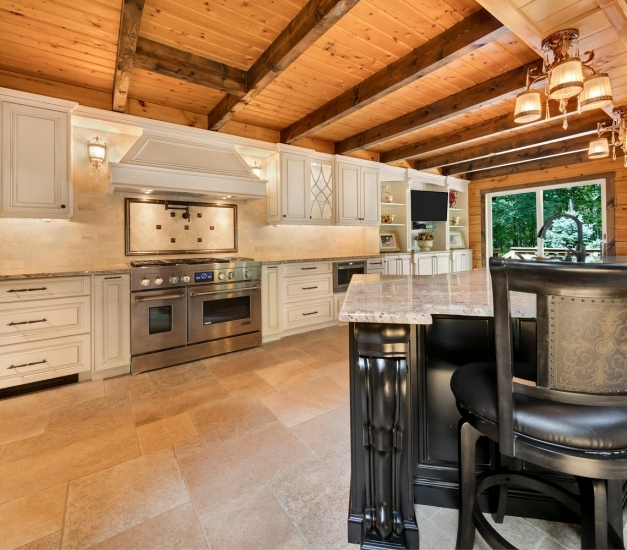 Incredible Log Cabin Kitchen Howell New Jersey Design Line Kitchens Log Cabin Kitchen Pictures Images
