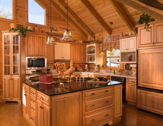 Incredible Log Cabin Kitchens Cabinets Smith Design Log Cabin Kitchens Log Cabin Kitchen Pictures Pic