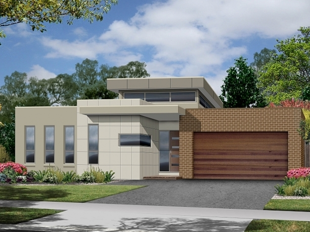 Stylish One Story Modern House Plans Plans Best One Storey Modern House One Story House Design Pictures Images