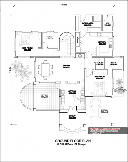 Awesome New Home Floor Plans Free In Trend Kerala House Design Plan 9 Kerala House Design With Floor Plans Pic