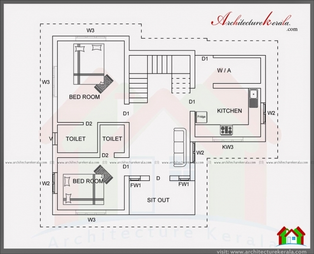 Best Small House Plans Under Sq Ft Home Deco Two Bedroom 1000 Modern 1200 Sq Ft House Plans Indian Style Picture