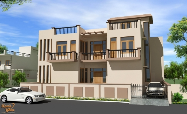 Fascinating Uncategorized Home Elevation Designs In India Awesome For Trendy Latest Home Front Elevation Pictures