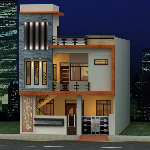 Gorgeous Latest Home Front Elevation Designs Ghar Banavo Latest Home Front Elevation Image